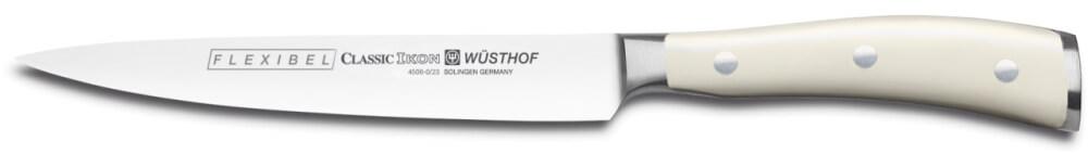 Wüsthof Classic Ikon Créme filetovací nůž 16 cm