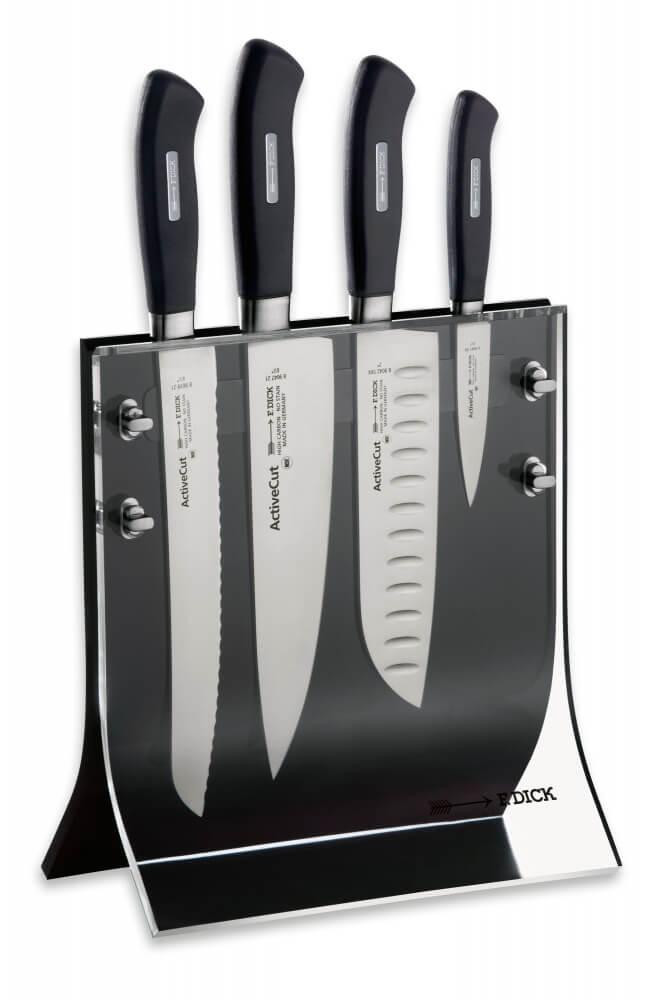 F. Dick Active Cut, sada nožů v magnetickém stojanu