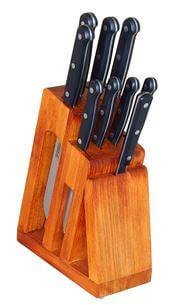 KDS Trend, blok medové barvy s noži