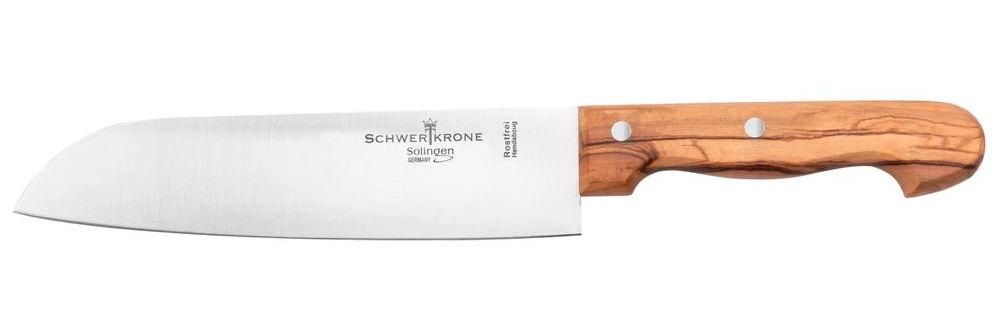 Schwertkrone Oliva Santoku nůž 20 cm
