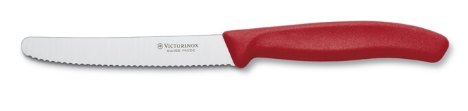 Victorinox nůž na rajčata červený