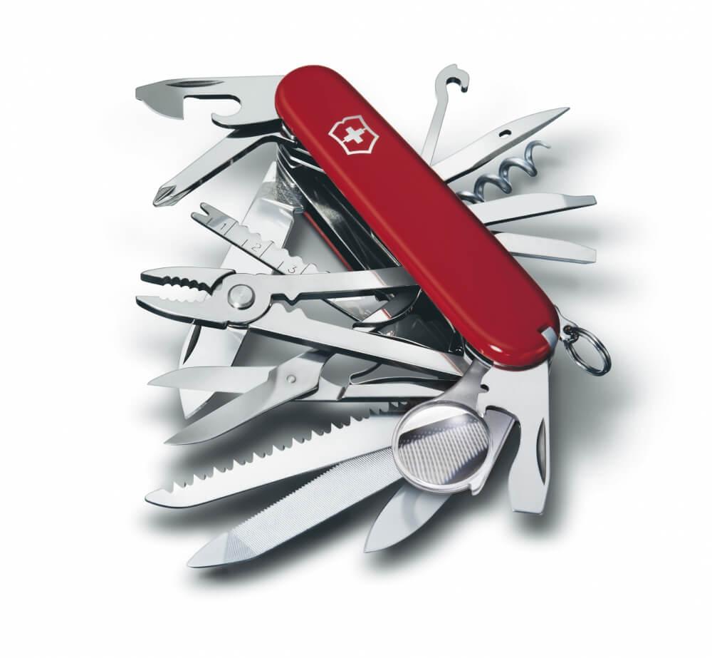 Victorinox Swiss Champ červená