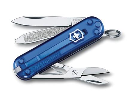 Victorinox Classic SD Translucent Blue