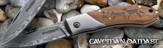 Luxusni-noze.cz - Damaškový nůž Caveman Damast
